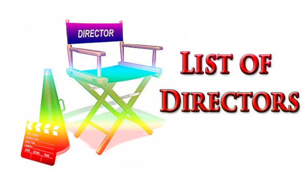 List Of Directors