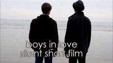 boys in love - silent short film