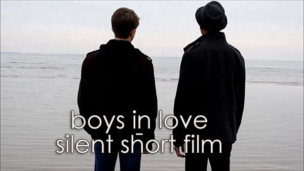 boys in love - silent short film