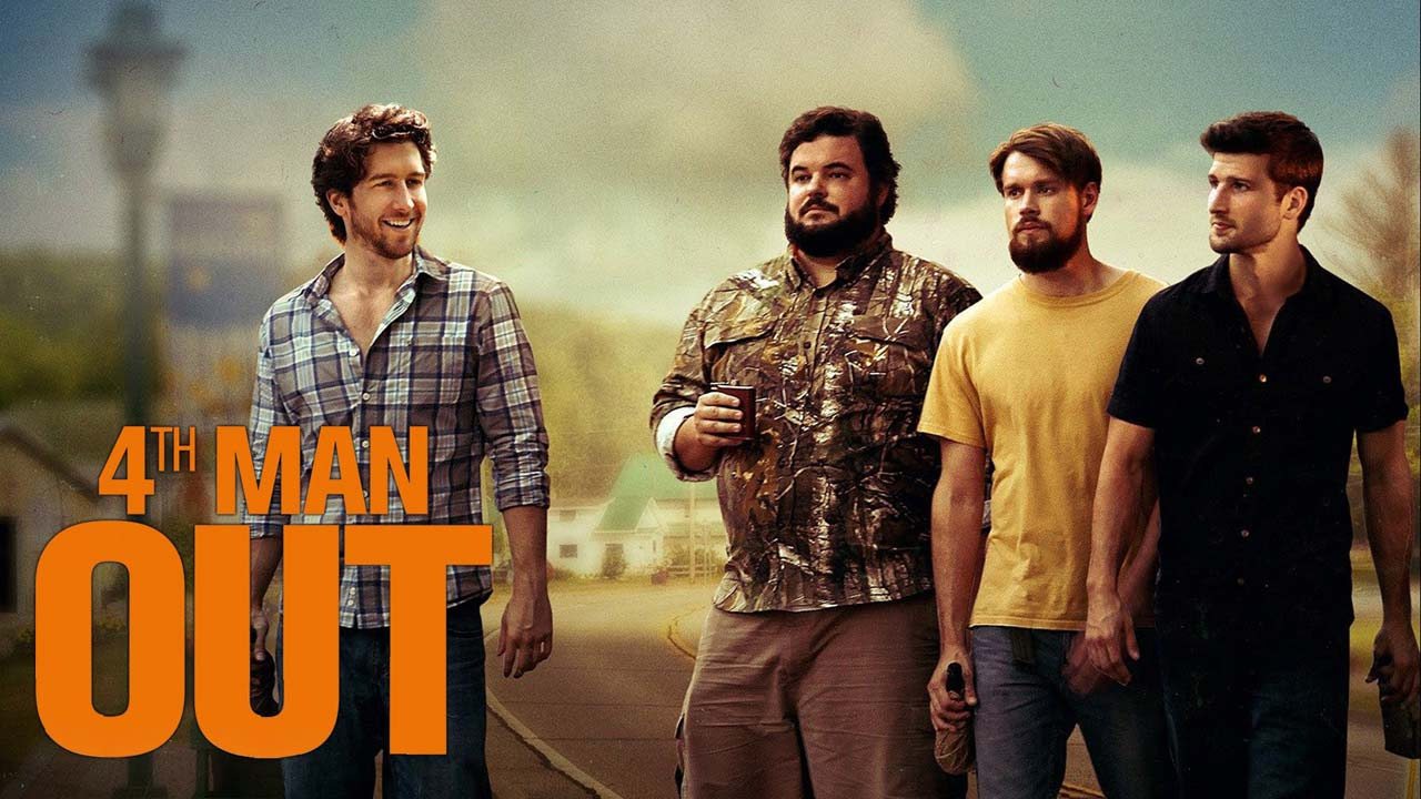 4th Man Out (2015) gay comedy by Andrew Nackman - Gay Themed Movies